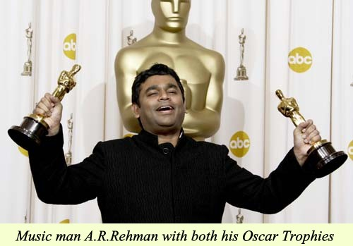 A. R. Rehman at the Oscars