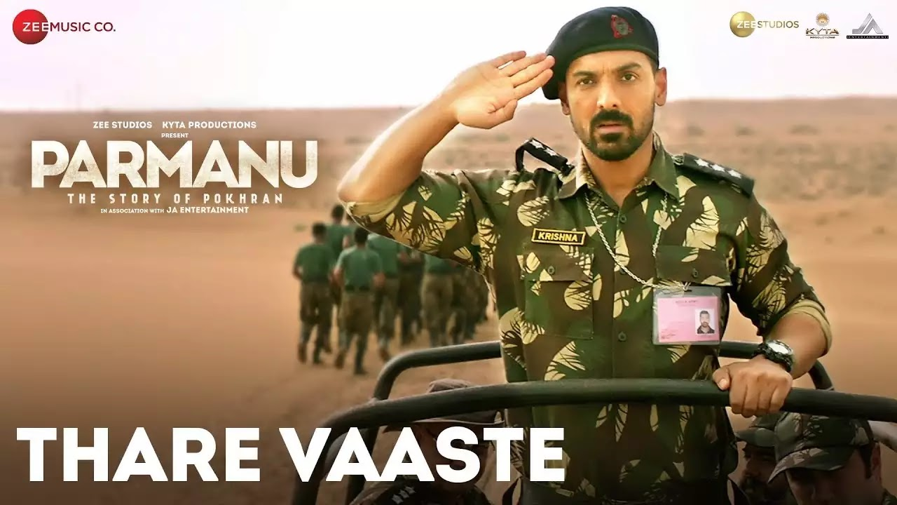 Click to Watch Thaare Waste from Parmanu