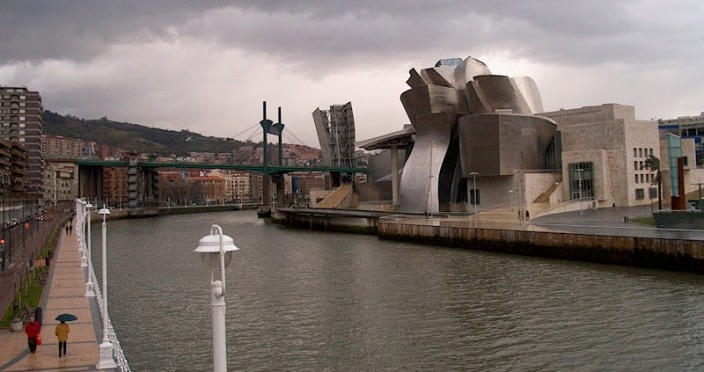 The Guggenheim, Bilbao Spain