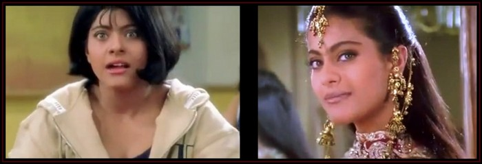 Anjali's transformation in Kuch Kuch Hota Hai