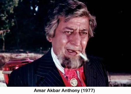 Pran in Amar Akbar Anthony