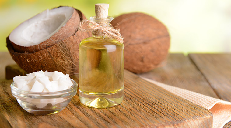 Cocnut Oil and Camphor