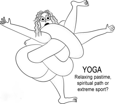 Yoga Cartoon